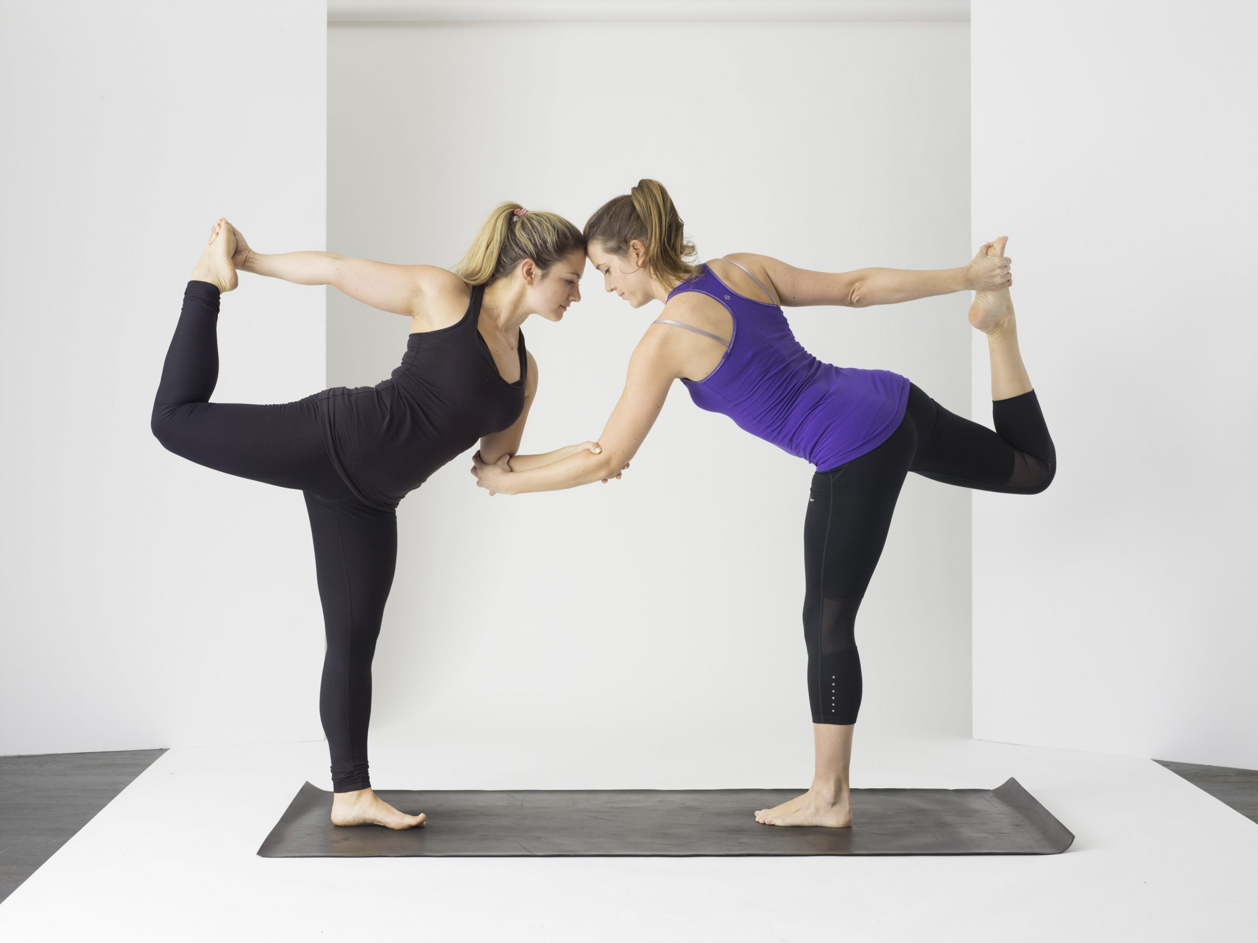 Life-Long Friends while doing yoga