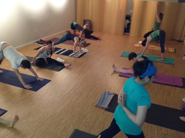 Experiment with yoga