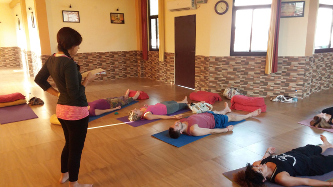 What if you join a Yoga School
