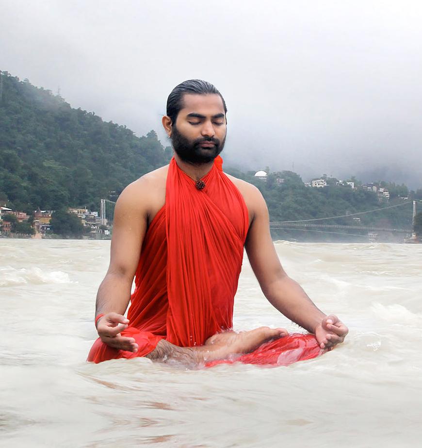 saint meditation