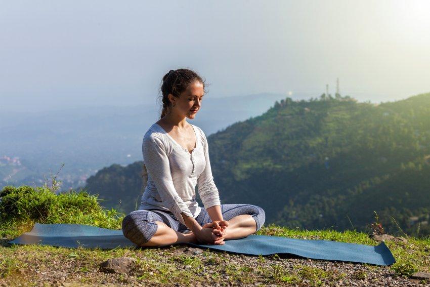 Baddha Konasana Yoga Pose