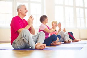 Seniors' Age For Yoga