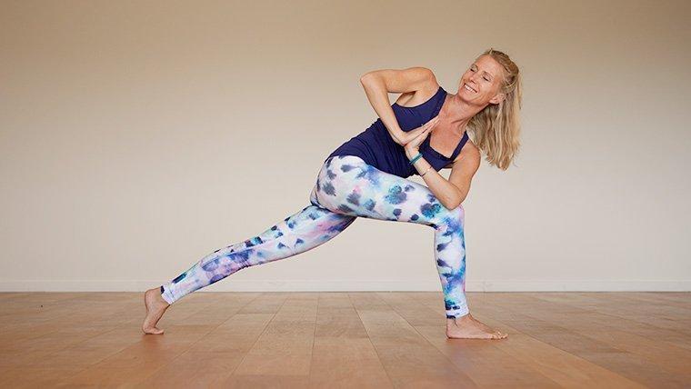 Standing Twist Yoga Pose