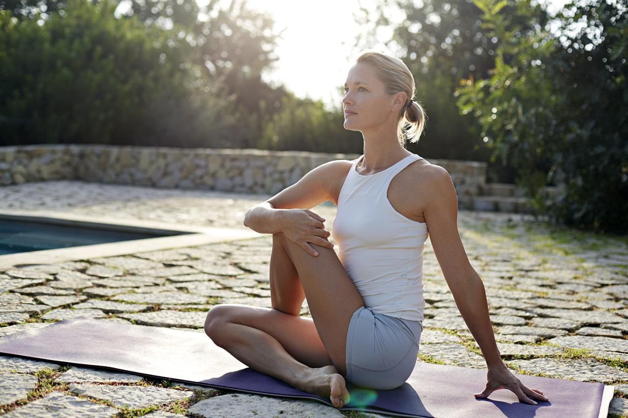 yoga as Stress Buster